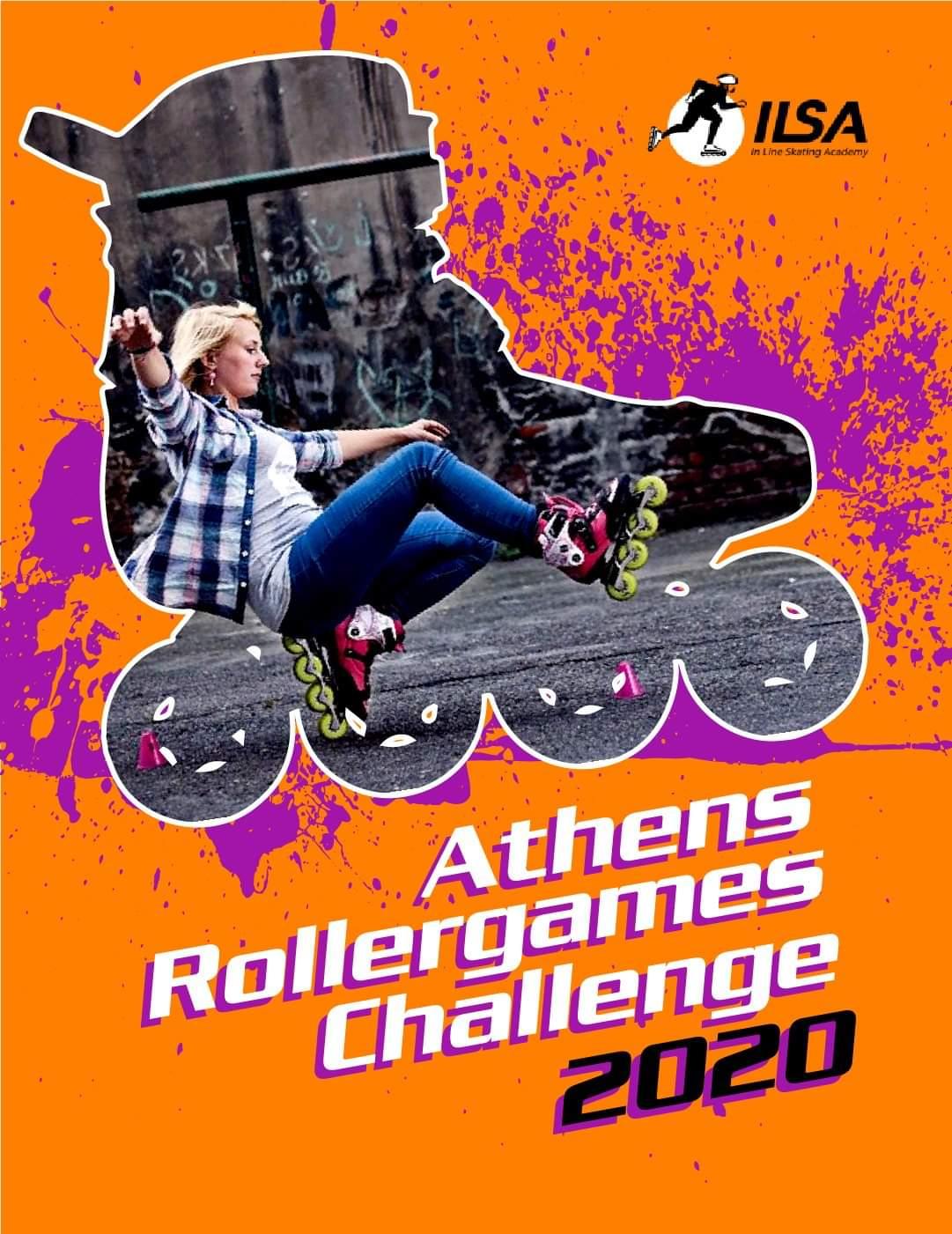Athens rollergames challenge 2020
