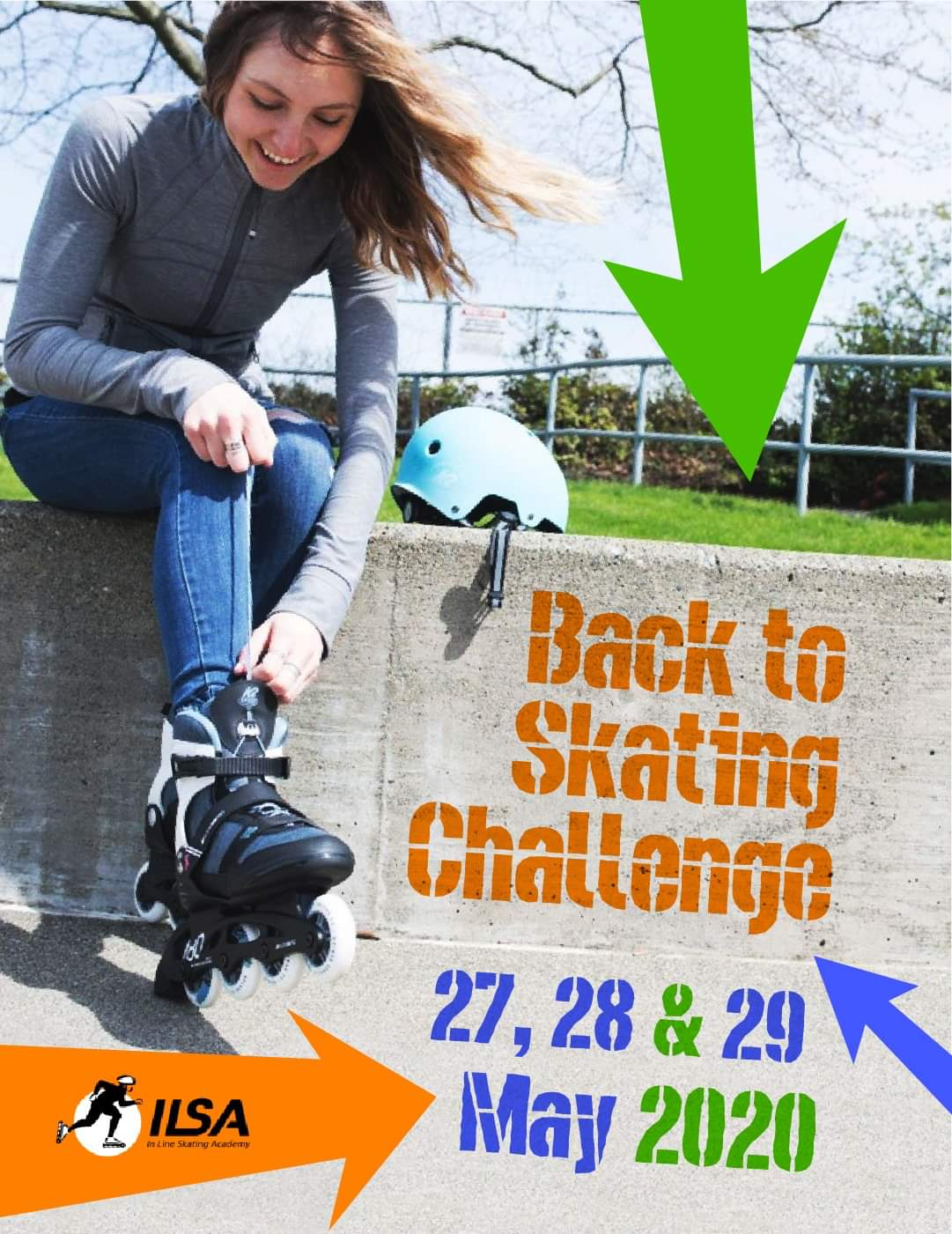 ILSA back to skating challenge