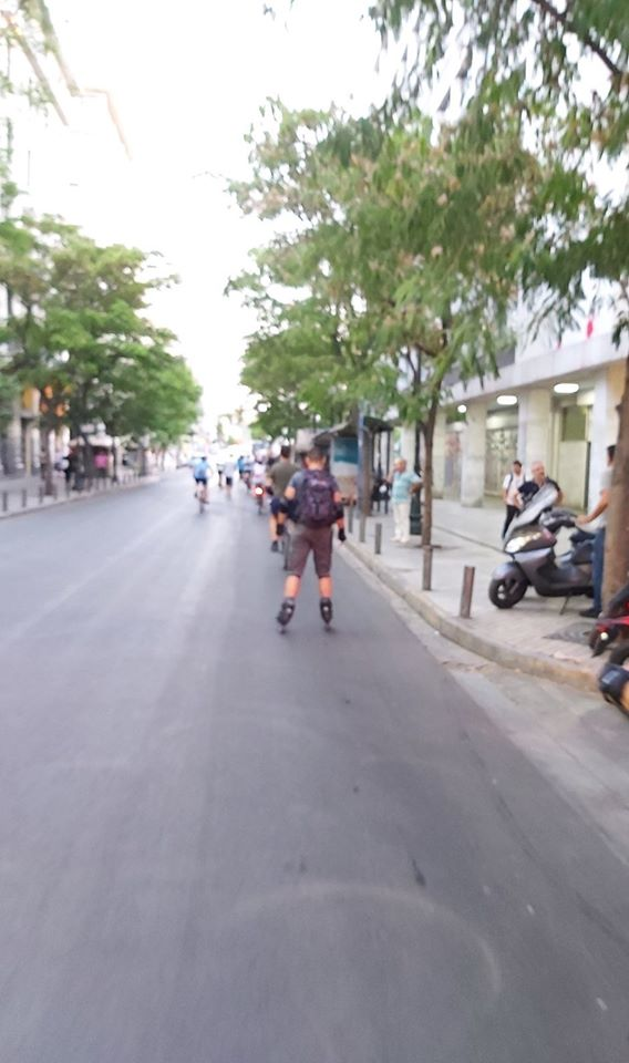 "Exploring the new ""Athen's downtown walk"" – Repetition"
